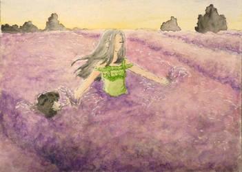 #22 'Let's dance through lavender fields' by ilinga
