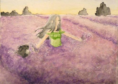 #22 'Let's dance through lavender fields'