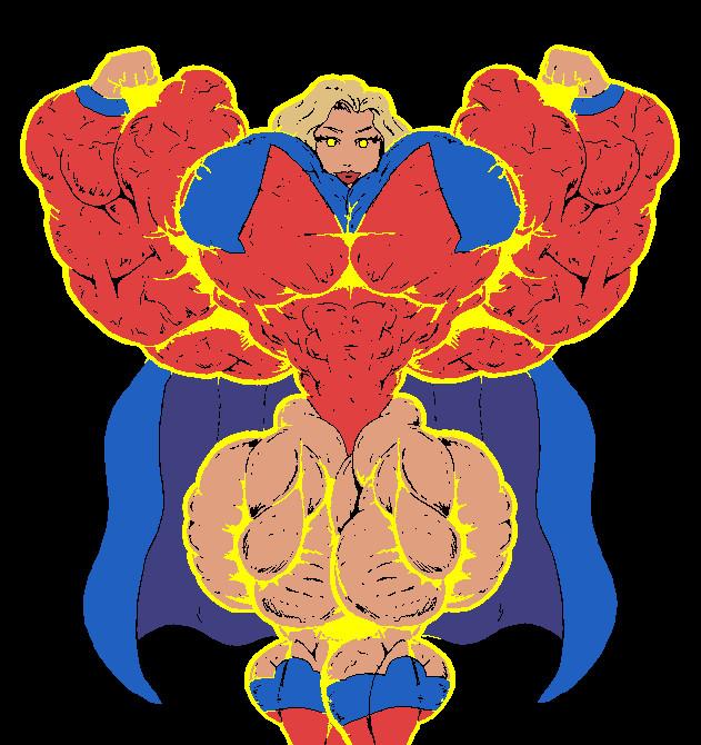 Scoundrel's Megagirl Radiates Power by Meadler