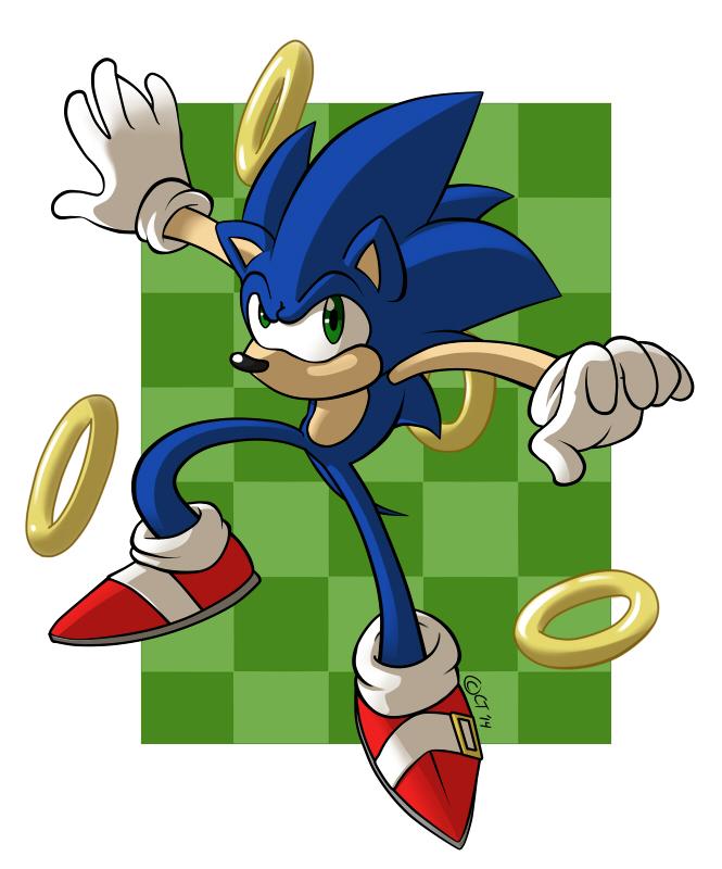 Sonic by KingdomBlade