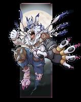 Wolf Claw!!! by KingdomBlade