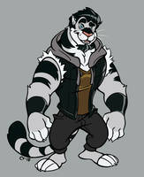 Tiger, but in color by KingdomBlade