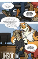 Lesser Than Three: Unsocial - Page 1