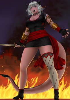 Igneayx, The Immortal Dragon by Janvill