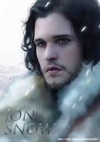 Jon Snow by Caim-Thomas
