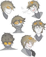 Ticci Toby Sketch Dump by TheMeGang