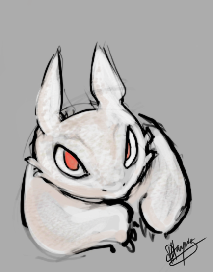 Albino Nightfury by Donomon on DeviantArt