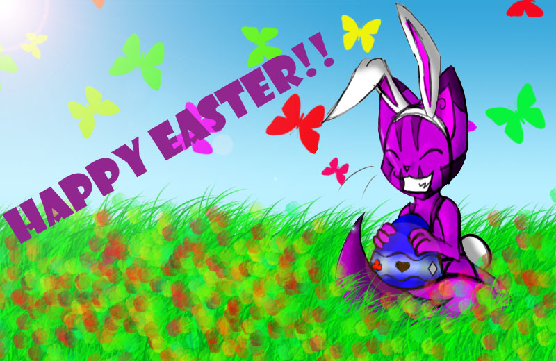 Happy Easter DA By Cheshire Cat Tamer