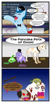 Pizza Pets: Pancake Pets by cheshire-cat-tamer