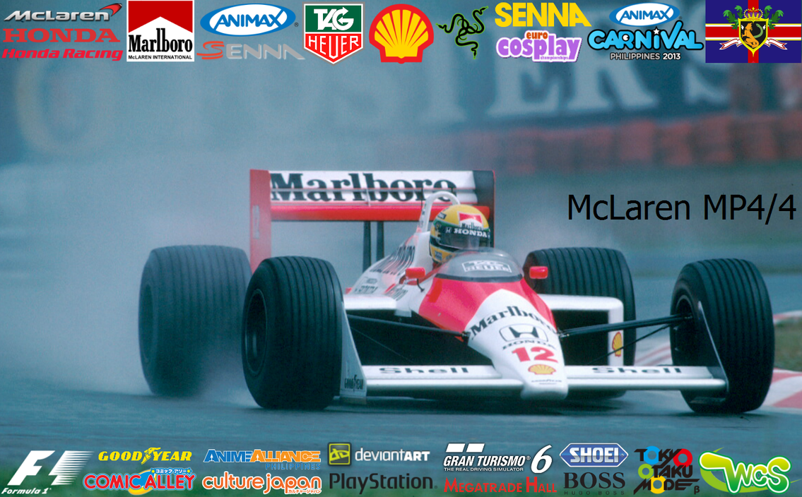Mclaren Mp4 4 Senna By Sauberanimax On Deviantart