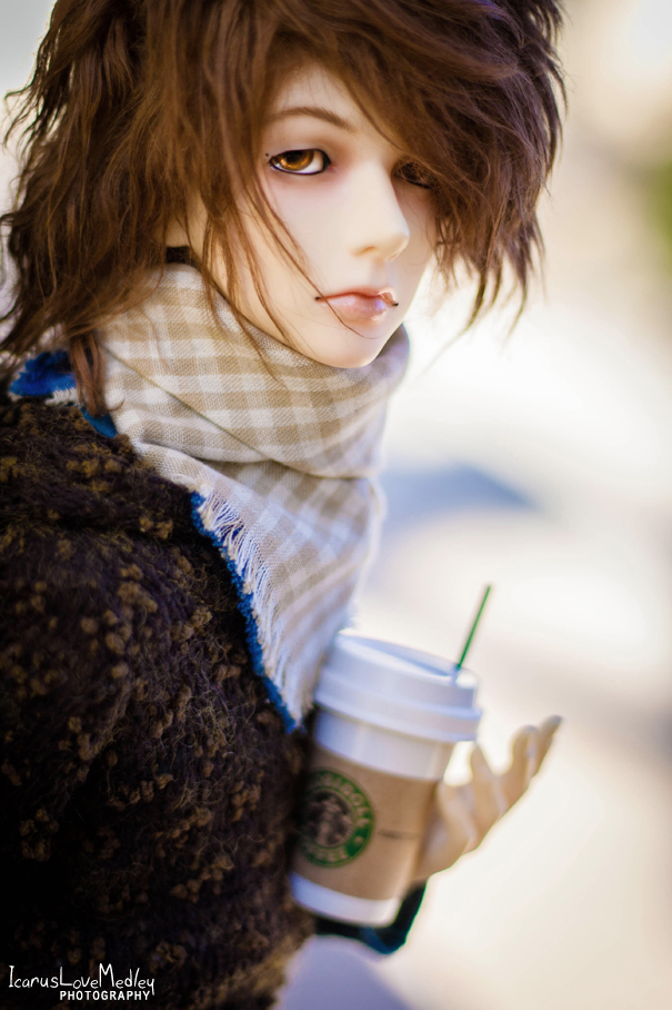 Hot Coffee and a Cool Autumn by IcarusLoveMedley