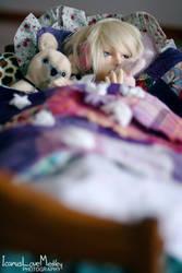 Safe in my Blanket Fort