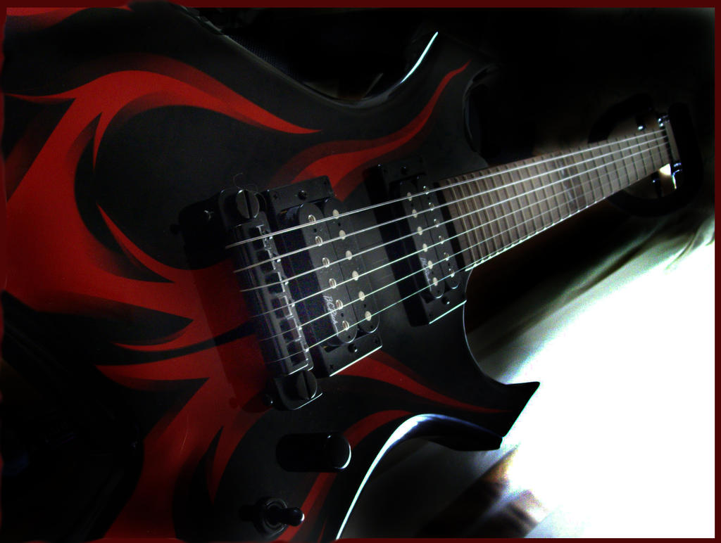 BC Rich Kerry King Warlock by moose-lee