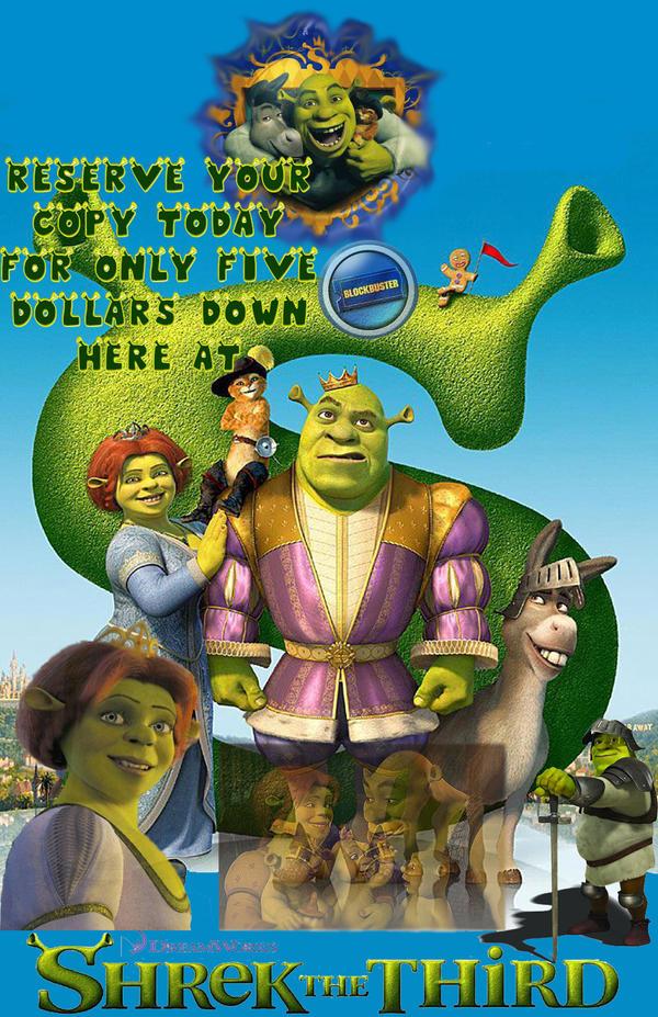 Shrek by CthulhuFury