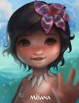 Bye - bye ocean! (Baby Moana)