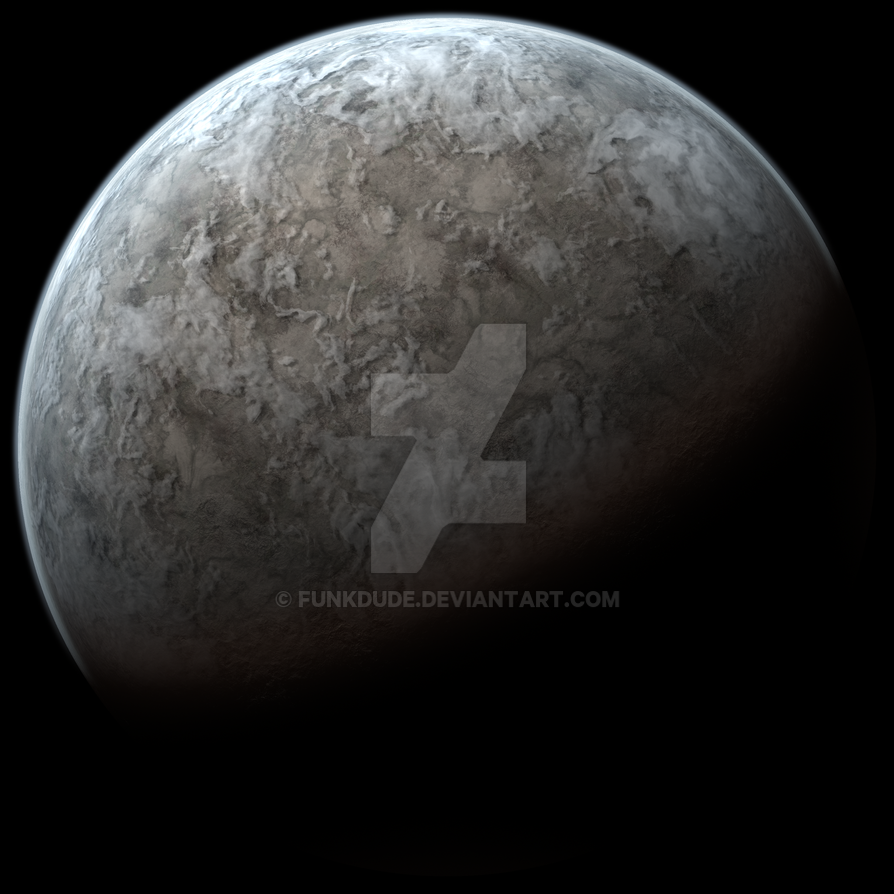 Barren Planet By Funkdude On Deviantart