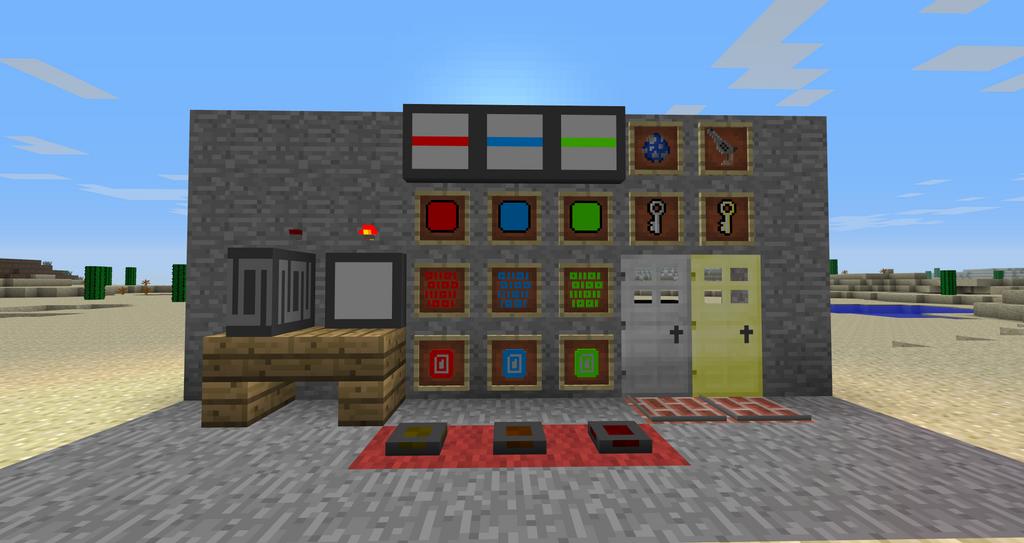 Minecraft Security Craft Mod