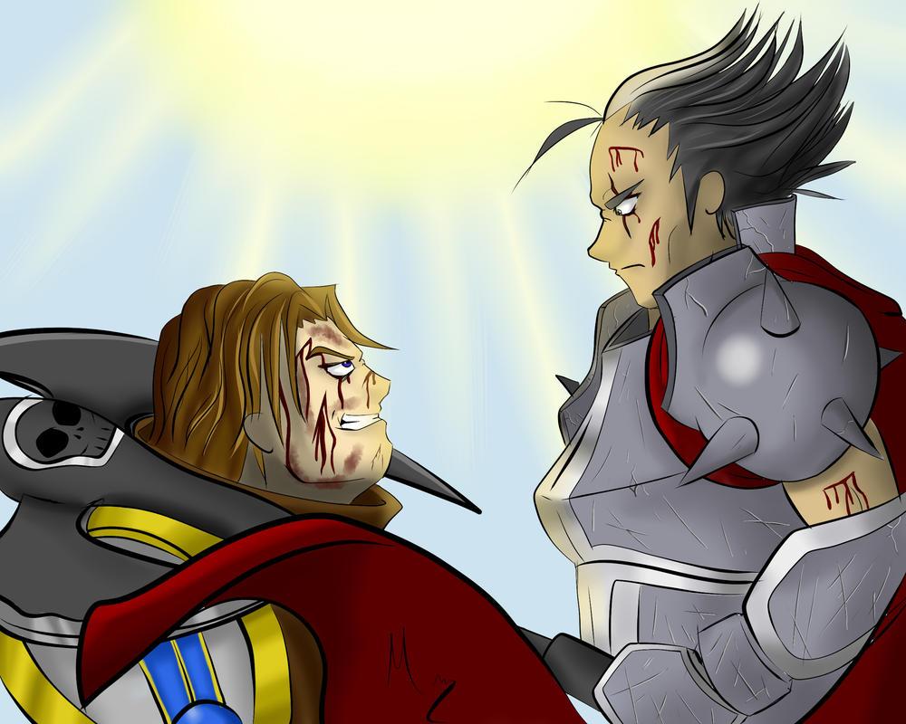 Garen Vs Darius By Themondracas