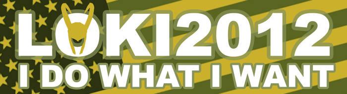 Loki 2012 I DO WHAT I WANT by Eridanis-Requiem