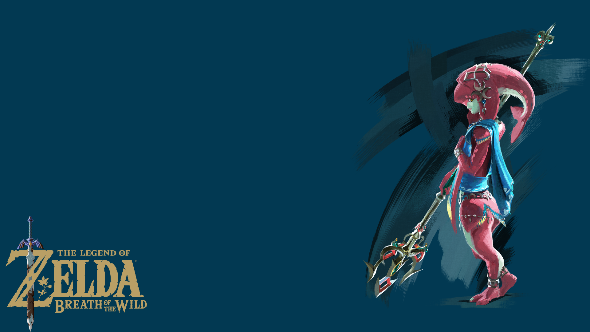 Mipha Wallpaper Tlz Breath Of The Wild By Seantheblacksheep On