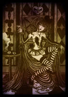 The Queen of Hearts by velvetdelirium