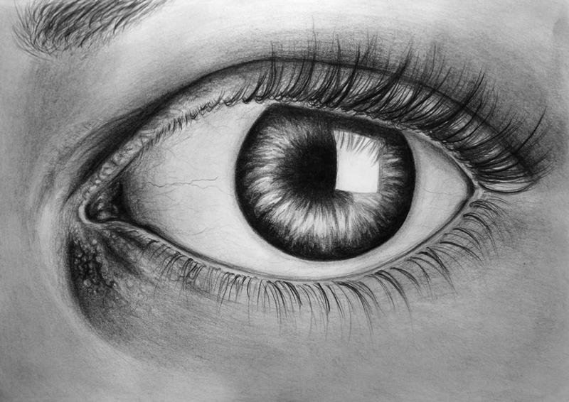 Eye Am Watching You - Drawing by Maddie-Marie