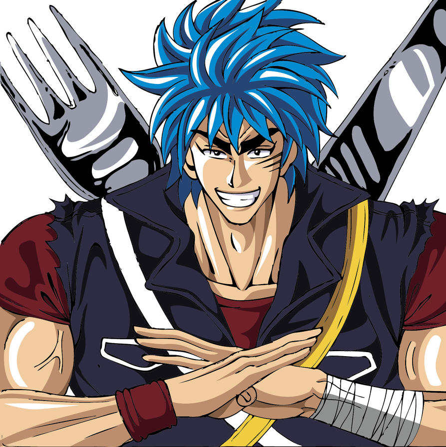 My Draw Of Toriko! By Sasaji-monkey On DeviantArt
