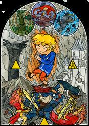 Before the Hero's Awakening - cover by Skull-the-Kid