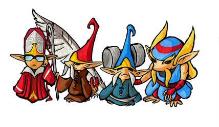 Minish Elders by Skull-the-Kid