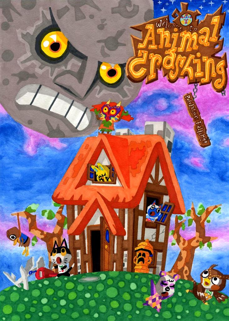 Animal Crashing - Majora's Mask crossover spoof by Skull-the-Kid