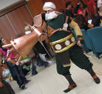 Drachma cosplay - Romics 2006