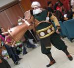 Drachma cosplay - Romics 2006