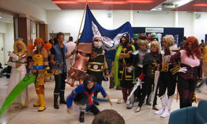 Skies of Arcadia cosplay group