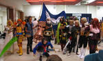 Skies of Arcadia cosplay group