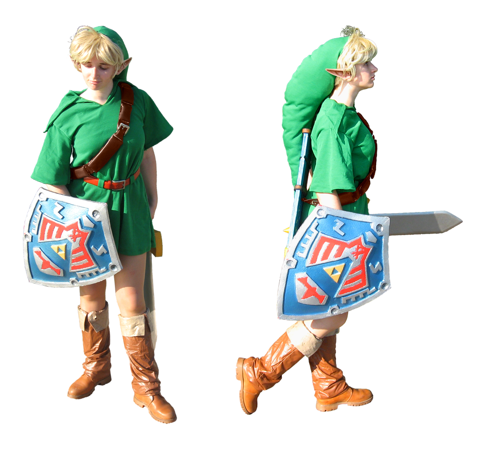 Majora's Mask Link cosplay - front and side view by Skull-the-Kid ...