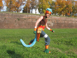 Ranulf cosplay by Skull-the-Kid