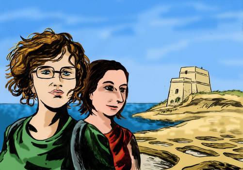 From Malta with (Hugo Pratt) style