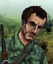 Niko Bellic in the Yugoslav wars, late nineties