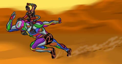 Multicolored Man