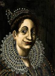 Portrait by Artemisia Gentileschi, revisited