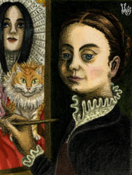 Self-portrait by Sofonisba Anguissola revisited