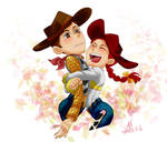 Woody and Jessie by DNA2023