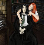 Severus and Lily by perselus