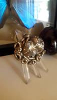 steampunk octopus pendant.