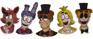 Welcome to Freddy's (FNAF Fanart)