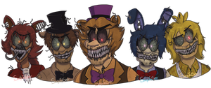 Tomorrow Is Another Day (FNAF Fanart)