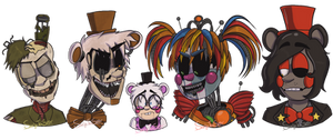 One Big Happy Family (FNAF Fanart)