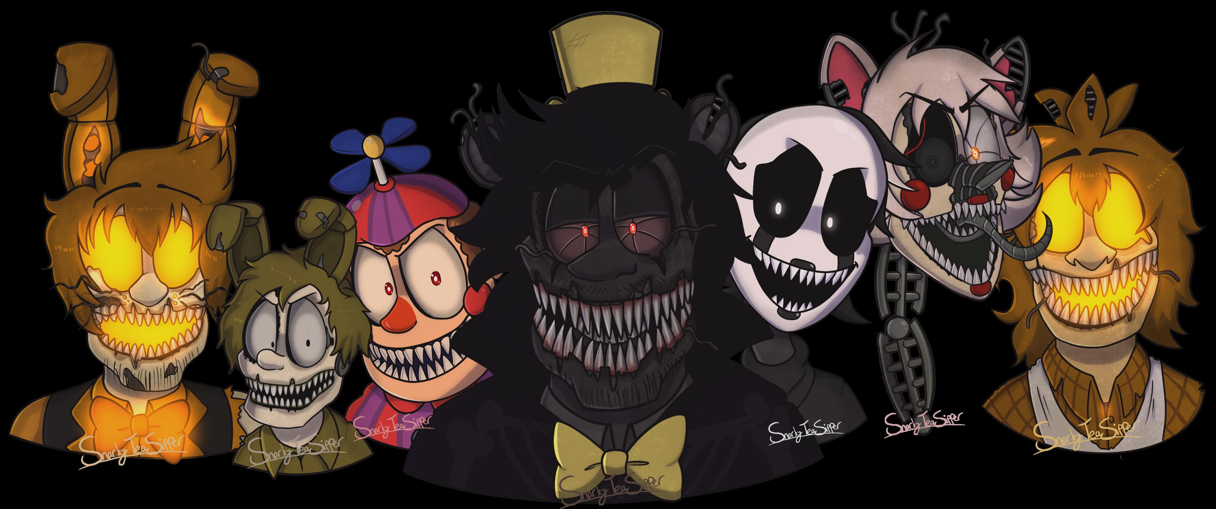 Halloween 2020 Fanart Halloween at Freddys (FNAF Fanart) by SnarkyTeaSipper on DeviantArt