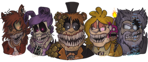 The Twisted Ones (FNAF Fanart)