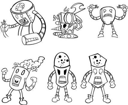 Robot characters